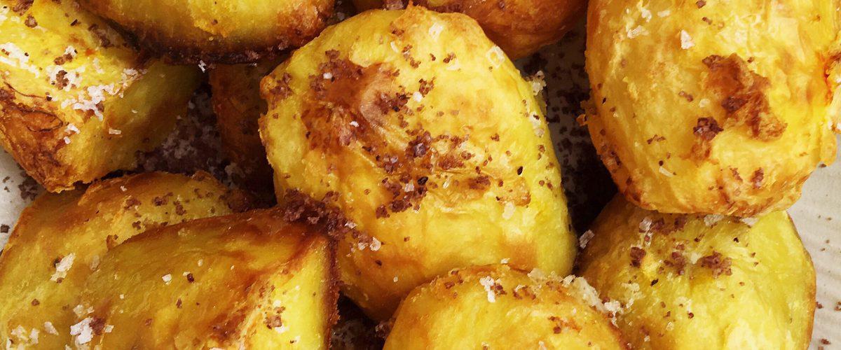 saffrankokta potatisar